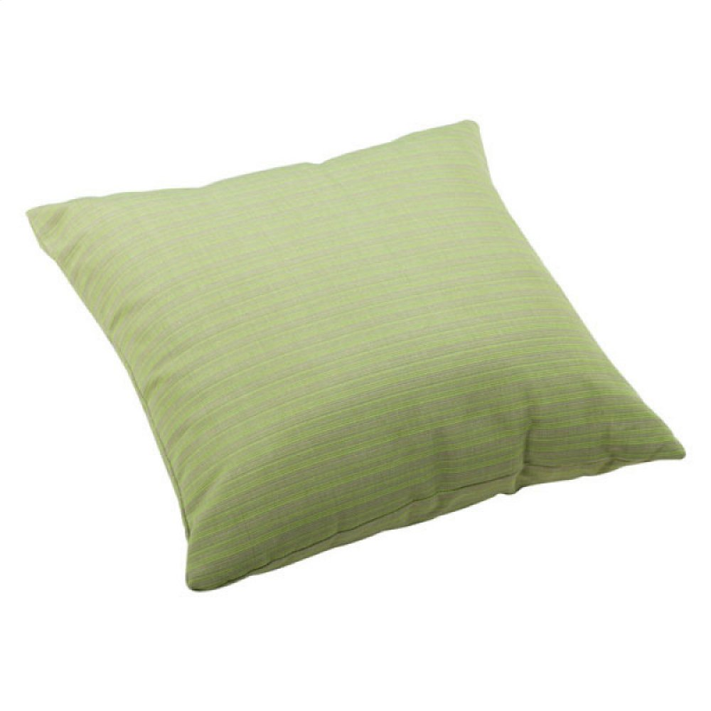 Cat Large Outdoor Pillow Apple Green