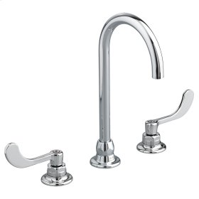 Monterrey 8-inch Widespread Gooseneck Faucet - 1.5 GPM - Polished Chrome
