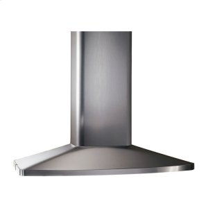 "Broan480 CFM 27-9/16"" x 35-7/16"" Island Chimney Hood in Stainless Steel"