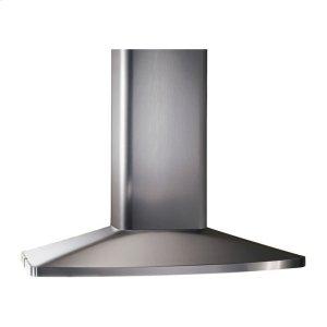 """BROAN480 CFM 27-9/16"""" x 35-7/16"""" Island Chimney Hood in Stainless Steel"""