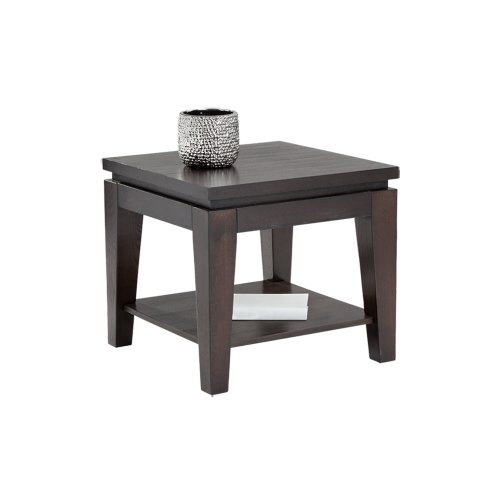Asia End Table - Brown