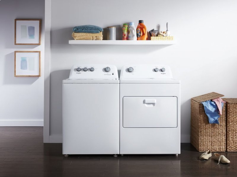 7 0 cu  ft  Top Load Electric Dryer with AutoDry Drying System