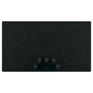 "GE®36"" Built-In Knob Control Electric Cooktop"