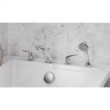 Colony Pro Deck Mount Tub Filler with Hand Shower  American Standard - Polished Chrome