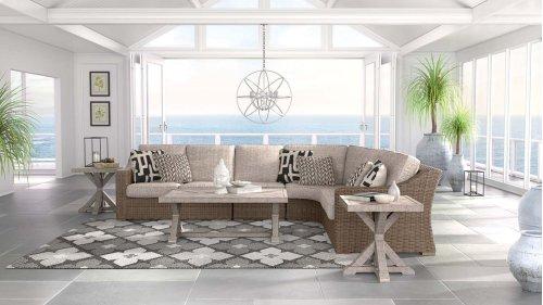 Beachcroft - Beige 5 Piece Patio Set