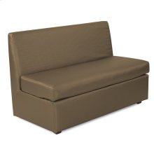 Slipper Loveseat Luxe Bronze