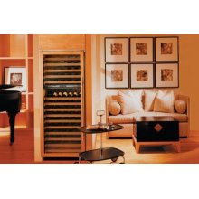 "Sub-Zero 30"" Wine Storage - Overlay - Right Hinge"