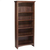 "CAF 60""H x 24""W McKenzie Alder Bookcase Product Image"