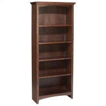 """CAF 60""""H x 24""""W McKenzie Alder Bookcase"""