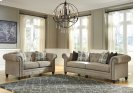 CLEARANCE FLOOR MODEL SOFA AND LOVESEAT SET! Product Image