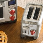2 Slice Toaster Red Knob
