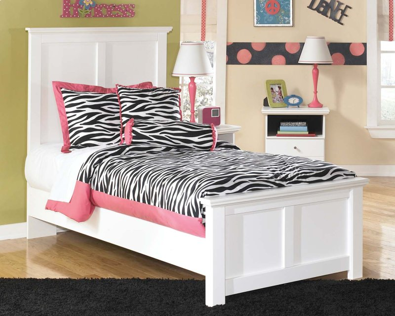 Bostwick Shoals White 3 Piece Bed Set Twin