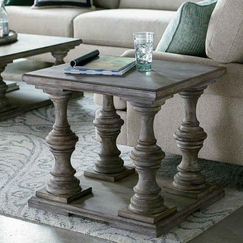 Antiquities Brutus End Table