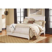 Willowton - Whitewash 3 Piece Bed Set (King)
