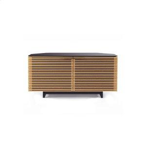 Bdi FurnitureCorner Media Cabinet 8175 in White Oak
