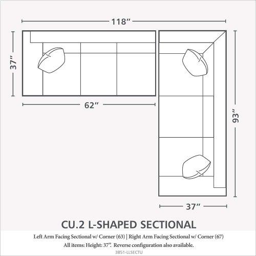 CU.2 Large L-Shaped Sectional