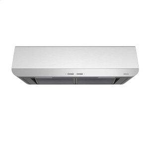 BroanSpire 36-Inch 400 CFM Stainless Steel Range Hood with LED light