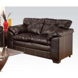 Simmons Premier Choco Loveseat Product Image