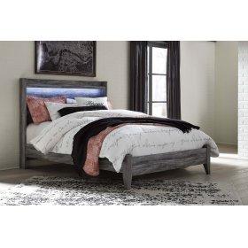 Baystorm - Gray 2 Piece Bed Set (Queen)