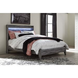Ashley Furniture Baystorm - Gray 2 Piece Bed Set (Queen)