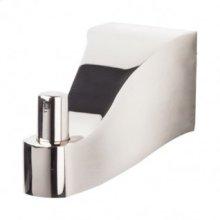 Aqua Bath Single Hook - Polished Nickel