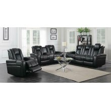 Delangelo Black Power Motion Reclining Loveseat