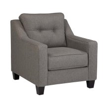 Brindon Charcoal Accent Chair