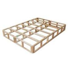 "9"" Common Spilt Queen Box - Wood Foundation"