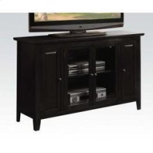 Black Finish TV Stand