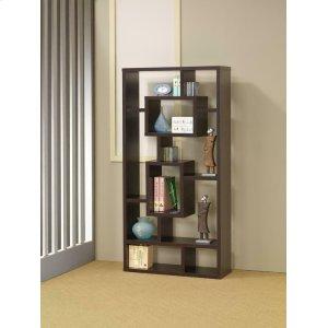 CoasterCasual Cappuccino Bookcase