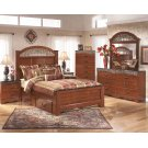 Fairbrooks Estate - Reddish Brown 5 Piece Bed Set (King) Product Image