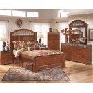Fairbrooks Estate - Reddish Brown 4 Piece Bed Set (King) Product Image