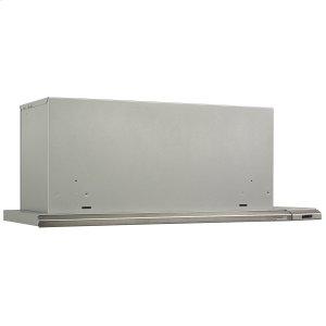 BroanBroan® Elite 36-Inch Under-Cabinet Slide-Out Range Hood w/ Light, Brushed Aluminum
