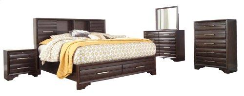 Andriel - Dark Brown 2 Piece Bedroom Set