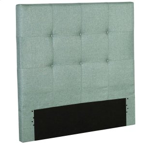 Fashion Bed GroupHenley Fashion Kids Button-Tuft Upholstered Headboard, Celery Green Finish, Twin
