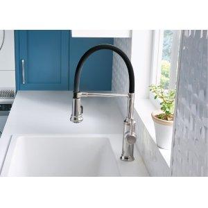 Blanco Empressa Semi-professional Kitchen Faucet - Polished Chrome