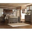 Juararo - Dark Brown 7 Piece Bedroom Set Product Image