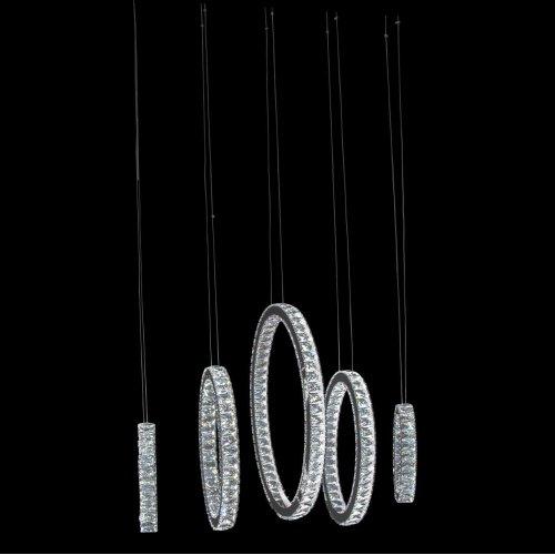 Solar Hoops LED Chandelier Large