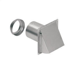BroanBroan-NuTone(R) Wall Cap, Aluminum, for 3-Inch and 4-Inch round duct
