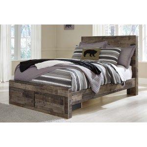 Ashley Furniture Derekson - Multi Gray 4 Piece Bed Set (Full)