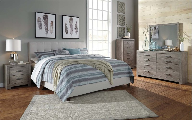 hidden additional culverbach gray 2 piece bedroom set - Bedroom Set For Men