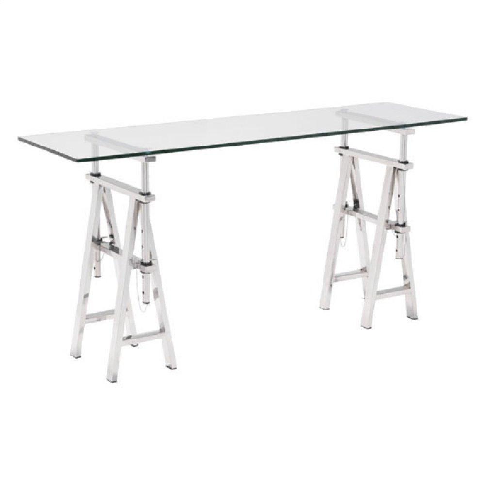 Lado Console Table Chrome