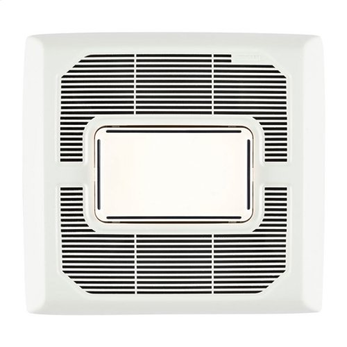 InVent Series Single-Speed Bathroom Exhaust Fan with Light 80 CFM, 2.0 Sones