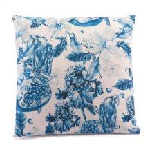 Ramo Blue Pillow Blue & Natural