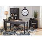 Tyler Creek - Grayish Brown/Black 3 Piece Home Office Set Product Image