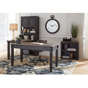 AshleySIGNATURE DESIGN BY ASHLEYTyler Creek - Grayish Brown/Black 3 Piece Home Office Set
