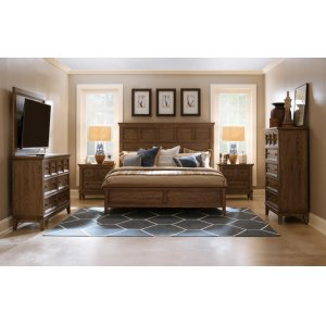 LEGACY CLASSIC FURNITUREForest Hills Panel Bed, Queen 5/0
