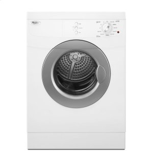 Whirlpool3.8 Cu.Ft Compact Front Load Electric Dryer, 11 Cycles