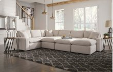 Savesto - Ivory 2 Piece Sectional