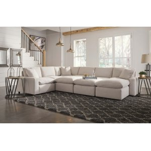 Ashley Furniture Savesto - Ivory 2 Piece Sectional